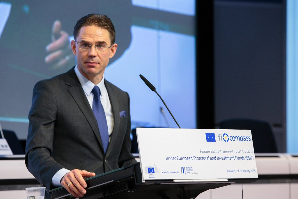 Jyrki Katainen opens the conference