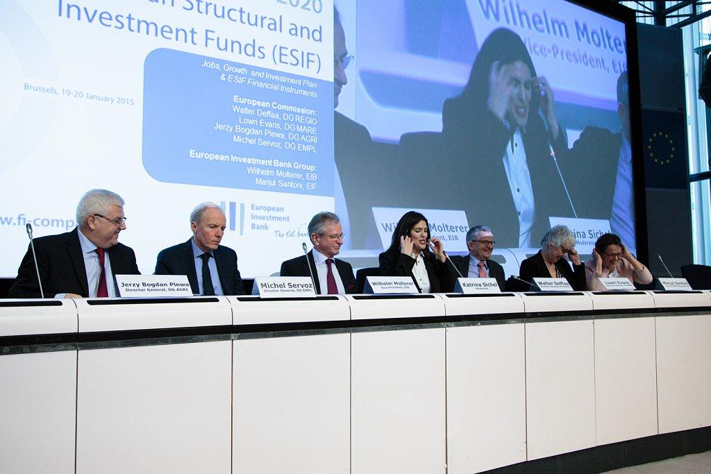 Jerzy Bogdan Plewa, Michel Servoz, Wilhelm Molterer, Katrina Sichel, Walter Deffaa, Lowri Evans, Marjut Santoni