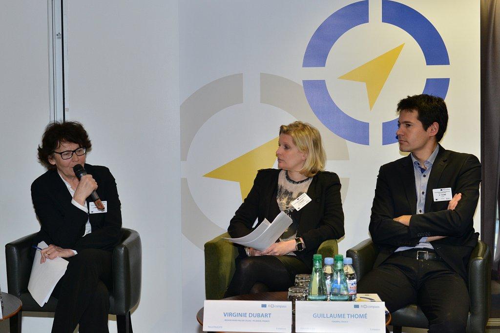 Joanna Wardzińska, Virginie Dubart, Guillaume Thomé