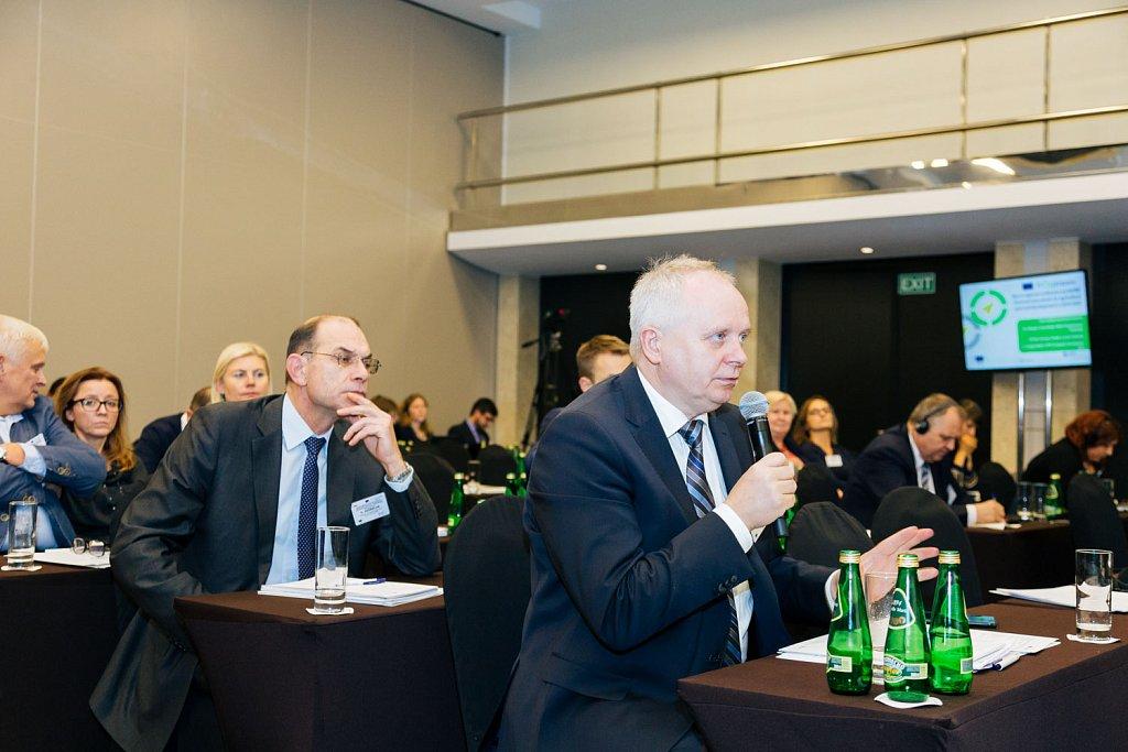 Jerzy Wierzbicki and event participants