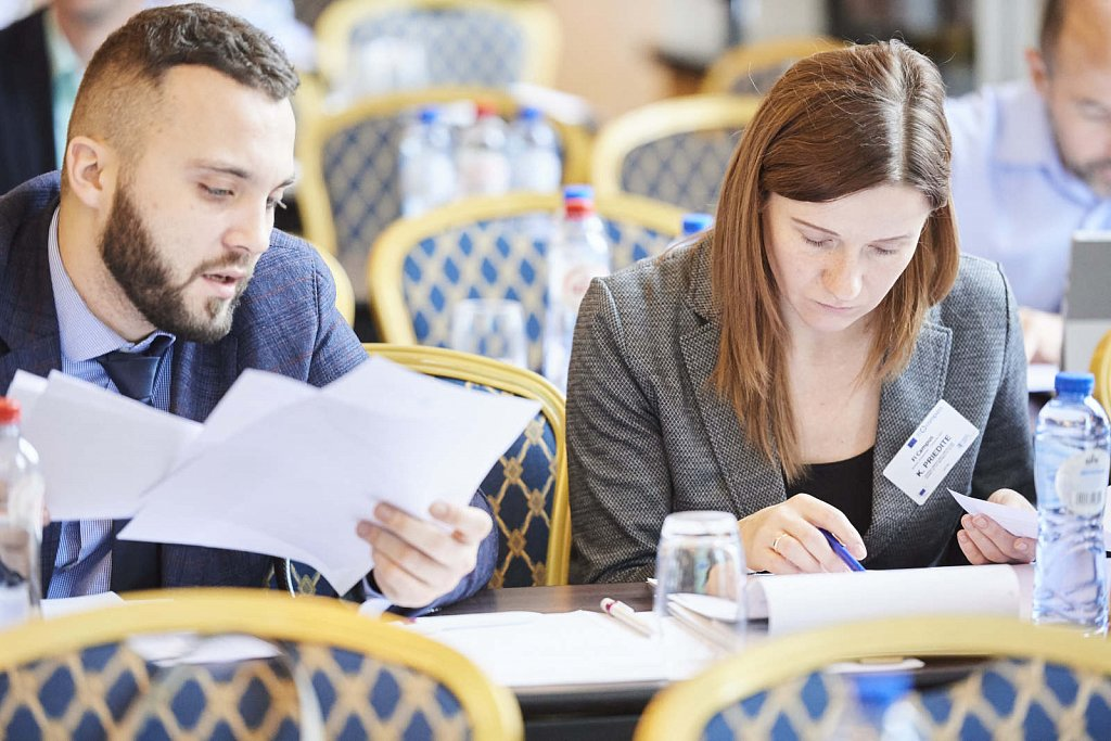 Event participants during the workshop