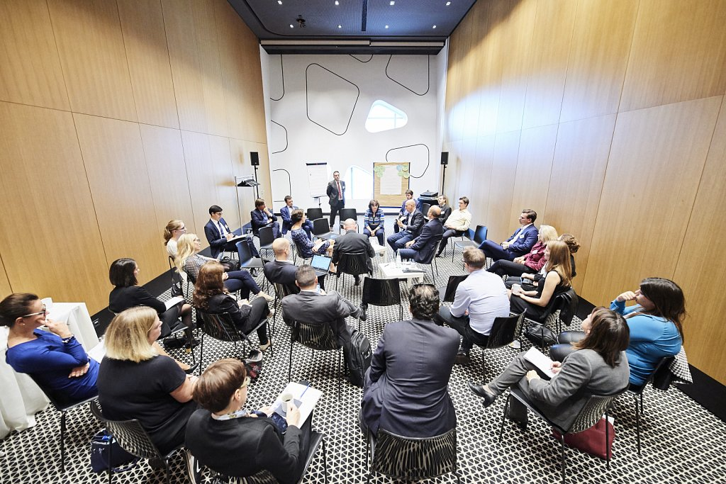 Discussion session B – Support for small and medium-sized enterprises (SMEs)