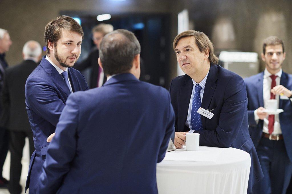 Mr Manuel Valenciano Marx and event participants
