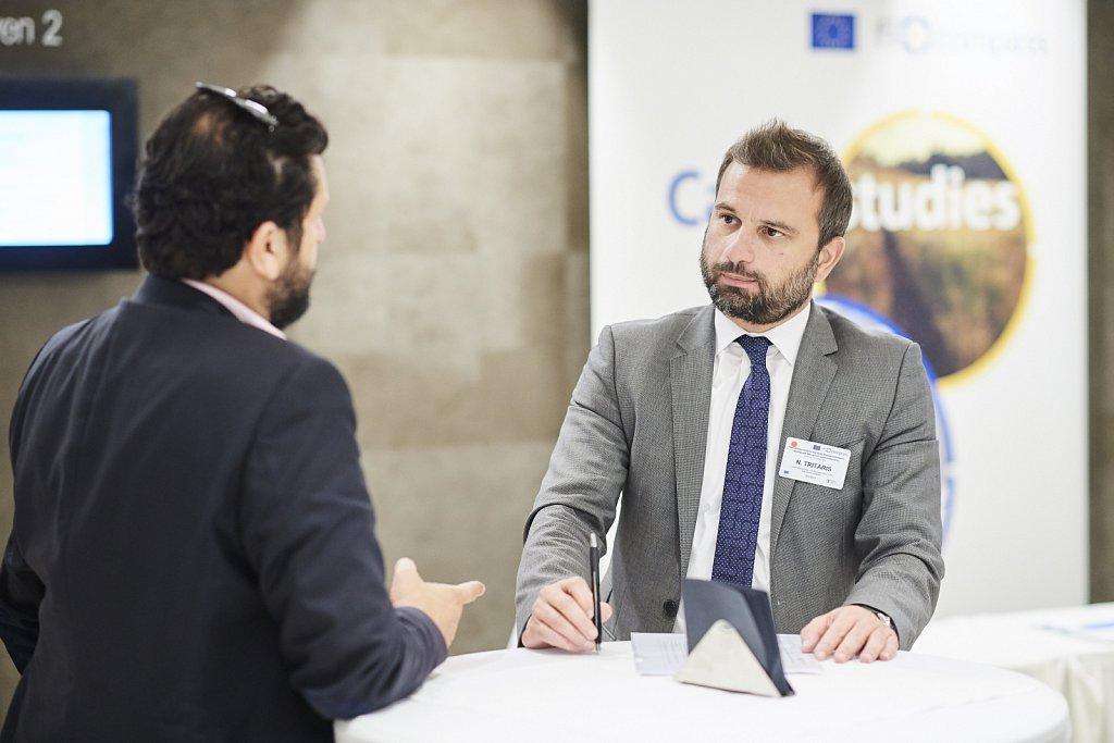 Mr Nicolas Tritaris and event participant