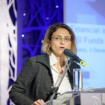 Zoe Georgopoulou, Head of NSRF and State Aid Service, National Coordination Authority, Ministry of Finance, Greece
