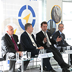 Charles Hamilton, Head of EU Programmes, Invest Northern Ireland; Grant Peggie, Director, British Business Bank; Cameron Cook, Amber Fund Management Limited, Scotland; David Read, Department of Communities and Local Government, United Kingdom
